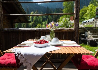 Baia monolocale Valle d'Aosta Champorcher, coppia vacanza, chalet in affitto