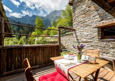 Cordonnier, baita in montagna Valle d'Aosta, Champorcher