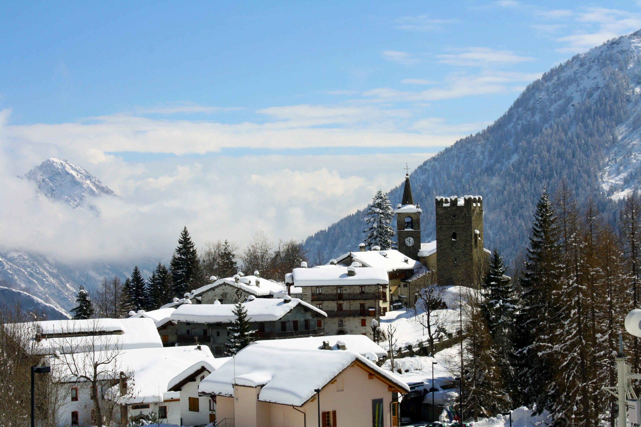 inverno champorcher villaggi