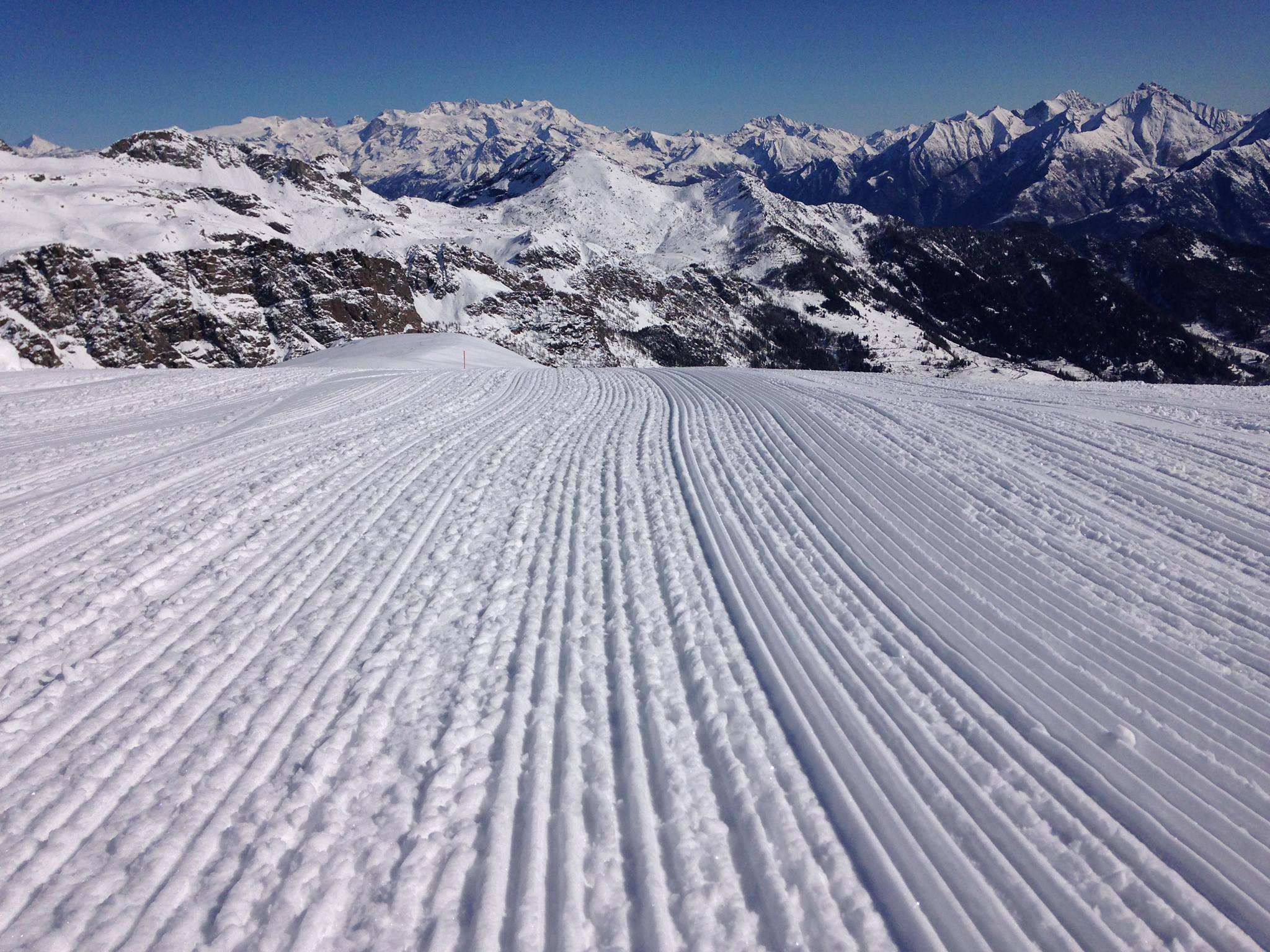 inverno champorcher sci